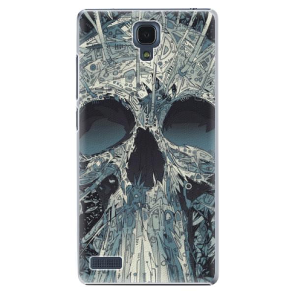 Plastové pouzdro iSaprio - Abstract Skull - Xiaomi Redmi Note