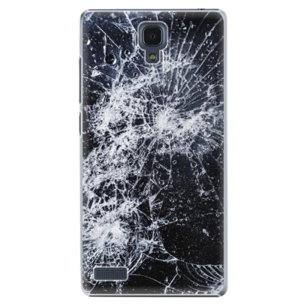Plastové pouzdro iSaprio - Cracked - Xiaomi Redmi Note