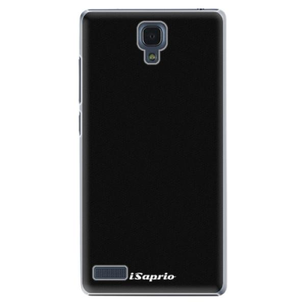 Plastové pouzdro iSaprio - 4Pure - černý - Xiaomi Redmi Note