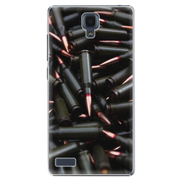 Plastové pouzdro iSaprio - Black Bullet - Xiaomi Redmi Note