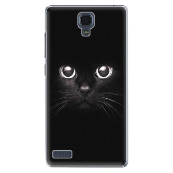 Plastové pouzdro iSaprio - Black Cat - Xiaomi Redmi Note