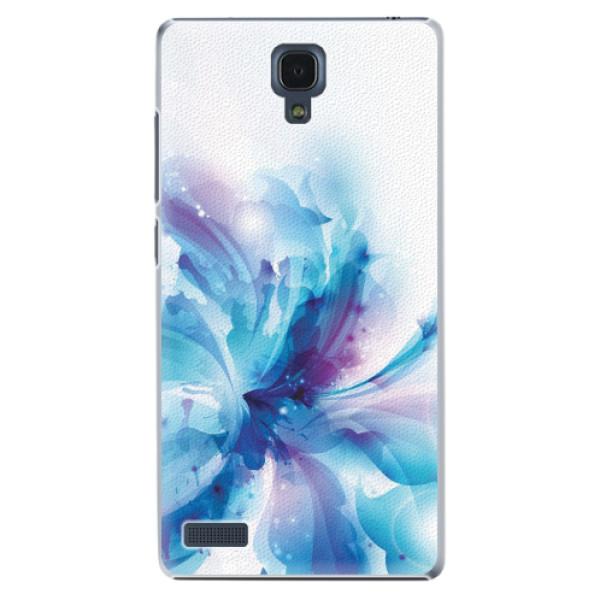 Plastové pouzdro iSaprio - Abstract Flower - Xiaomi Redmi Note