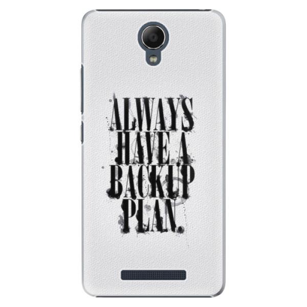 Plastové pouzdro iSaprio - Backup Plan - Xiaomi Redmi Note 2
