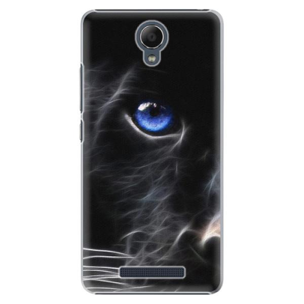 Plastové pouzdro iSaprio - Black Puma - Xiaomi Redmi Note 2