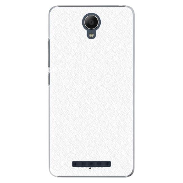 Plastové pouzdro iSaprio - 4Pure - bílý - Xiaomi Redmi Note 2