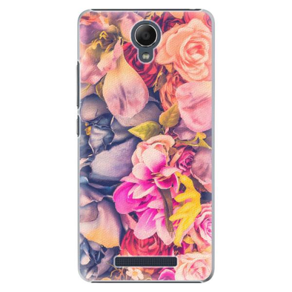 Plastové pouzdro iSaprio - Beauty Flowers - Xiaomi Redmi Note 2