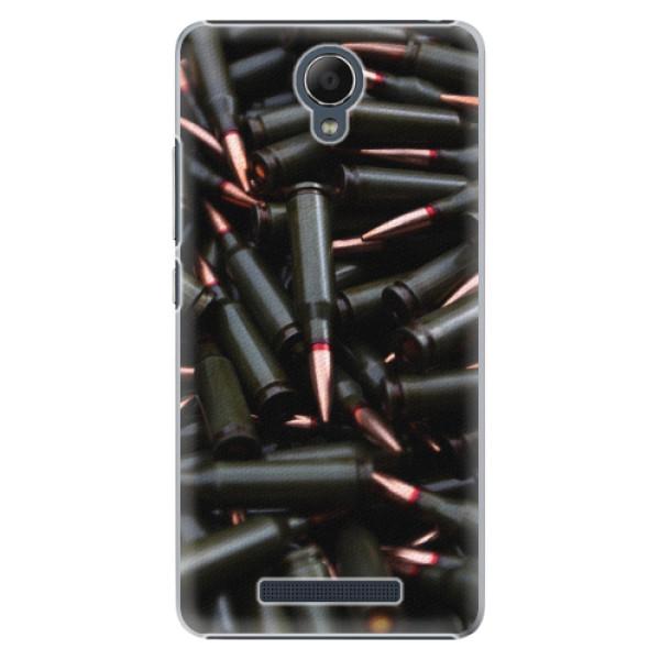 Plastové pouzdro iSaprio - Black Bullet - Xiaomi Redmi Note 2