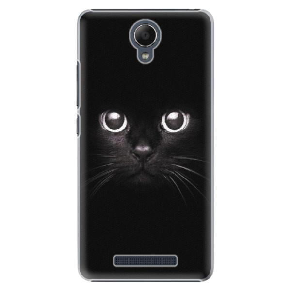 Plastové pouzdro iSaprio - Black Cat - Xiaomi Redmi Note 2