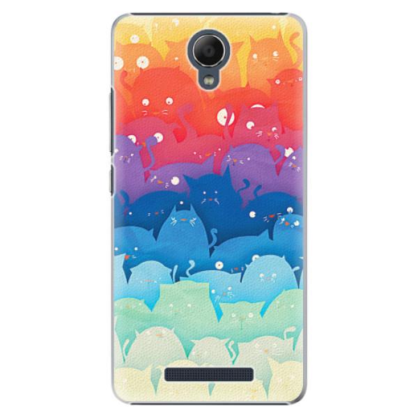Plastové pouzdro iSaprio - Cats World - Xiaomi Redmi Note 2