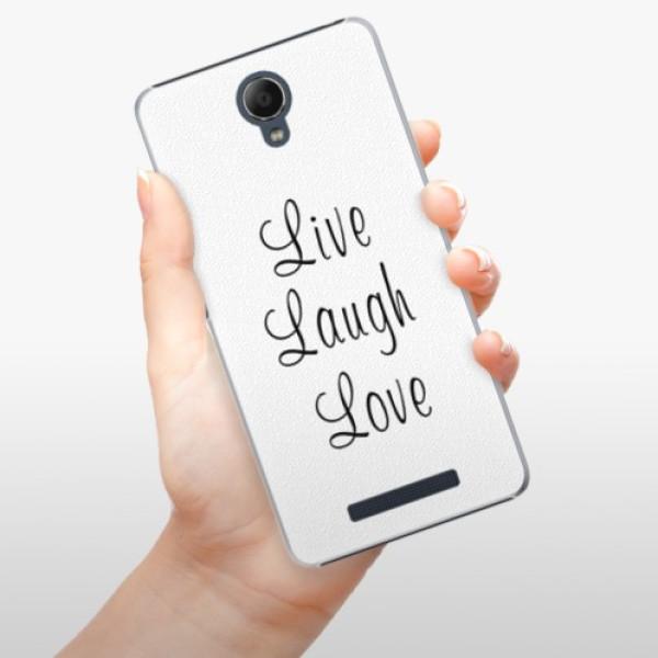Plastové pouzdro iSaprio - Live Laugh Love - Xiaomi Redmi Note 2