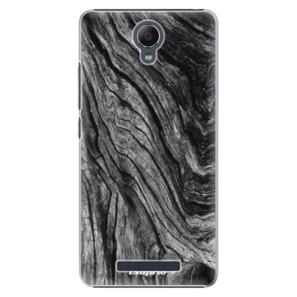 Plastové pouzdro iSaprio - Burned Wood - Xiaomi Redmi Note 2