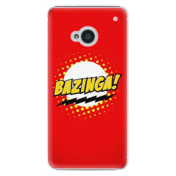 Plastové pouzdro iSaprio - Bazinga 01 - HTC One M7