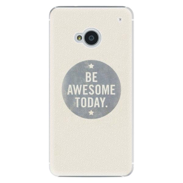 Plastové pouzdro iSaprio - Awesome 02 - HTC One M7