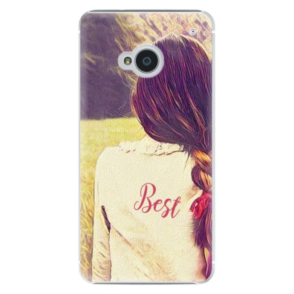 Plastové pouzdro iSaprio - BF Best - HTC One M7