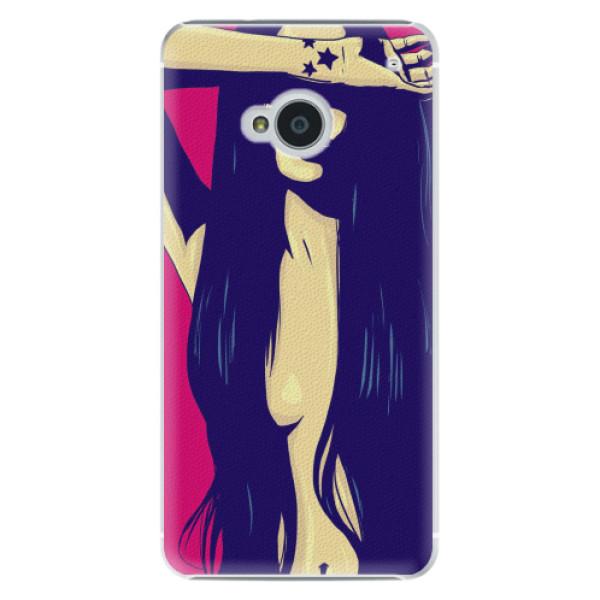 Plastové pouzdro iSaprio - Cartoon Girl - HTC One M7