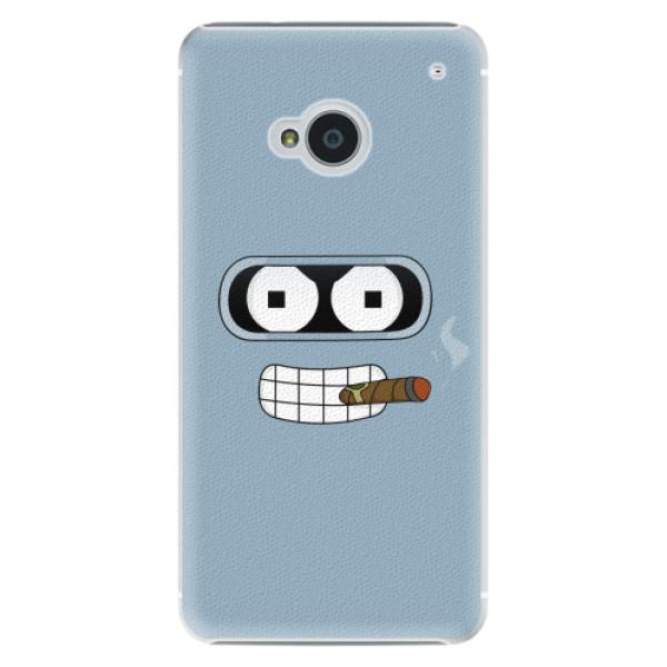 Plastové pouzdro iSaprio - Bender - HTC One M7