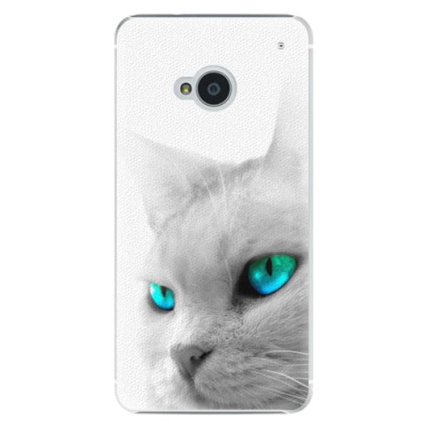 Plastové pouzdro iSaprio - Cats Eyes - HTC One M7