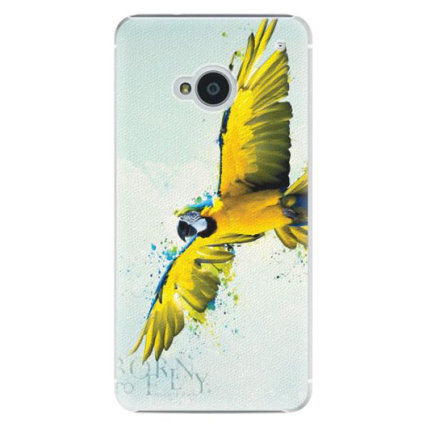 Plastové pouzdro iSaprio - Born to Fly - HTC One M7