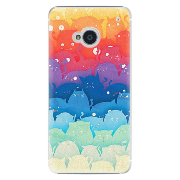 Plastové pouzdro iSaprio - Cats World - HTC One M7