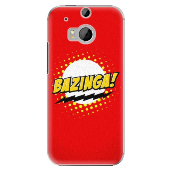 Plastové pouzdro iSaprio - Bazinga 01 - HTC One M8
