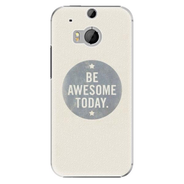 Plastové pouzdro iSaprio - Awesome 02 - HTC One M8