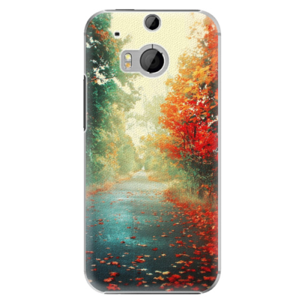 Plastové pouzdro iSaprio - Autumn 03 - HTC One M8