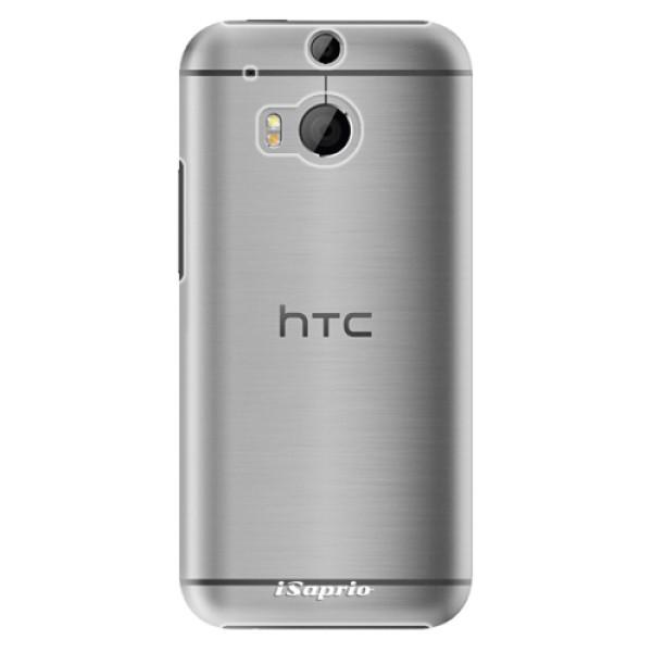 Plastové pouzdro iSaprio - 4Pure - mléčný bez potisku - HTC One M8