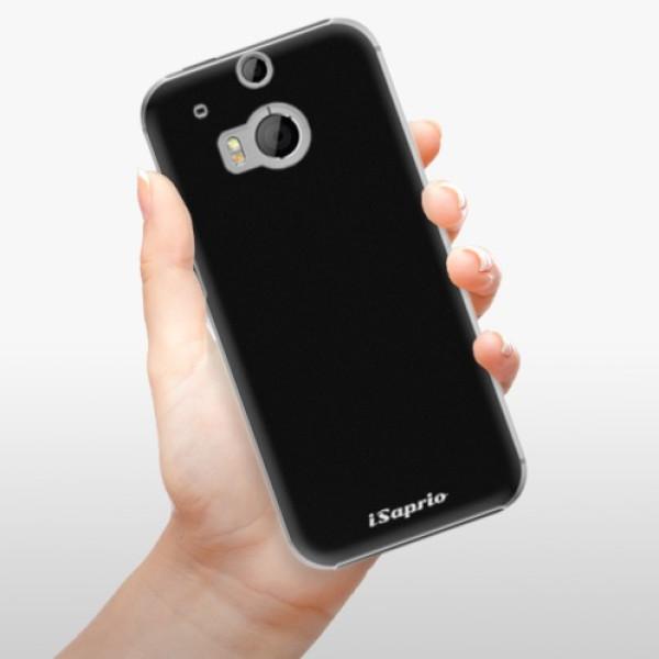 Plastové pouzdro iSaprio - 4Pure - černý - HTC One M8