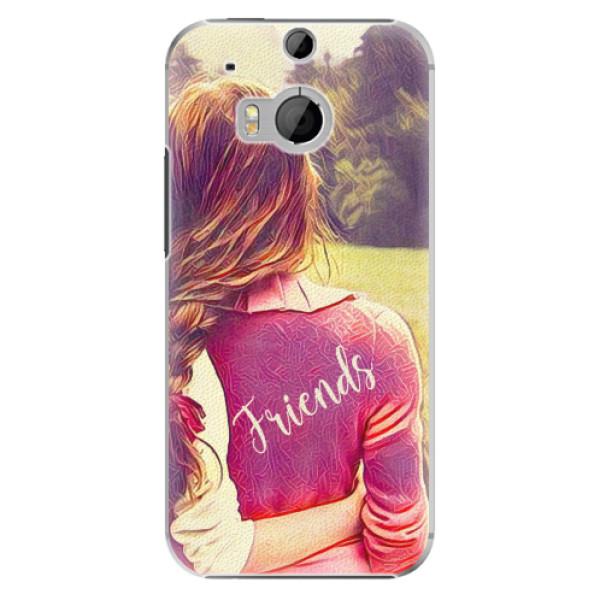 Plastové pouzdro iSaprio - BF Friends - HTC One M8