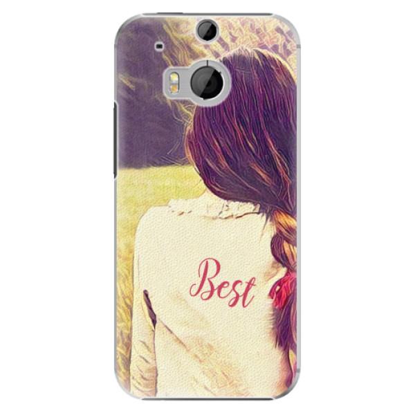 Plastové pouzdro iSaprio - BF Best - HTC One M8