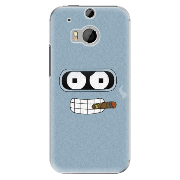 Plastové pouzdro iSaprio - Bender - HTC One M8