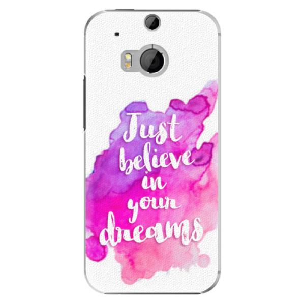 Plastové pouzdro iSaprio - Believe - HTC One M8