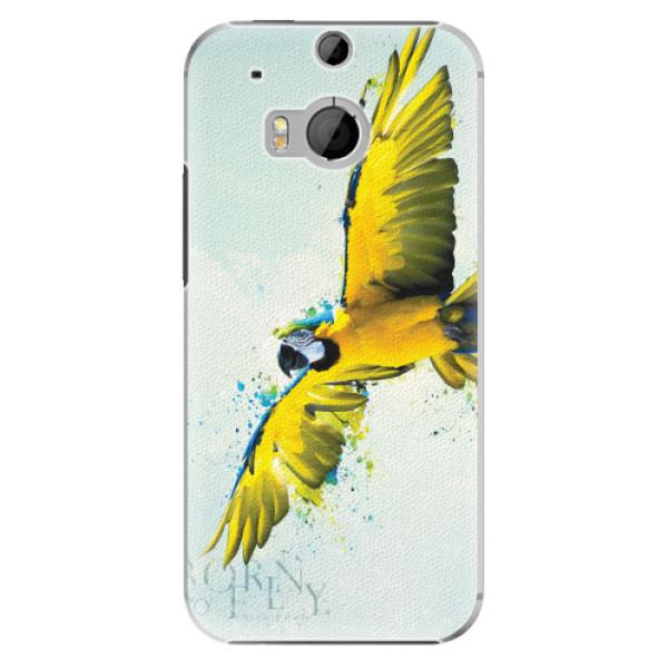 Plastové pouzdro iSaprio - Born to Fly - HTC One M8