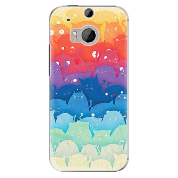 Plastové pouzdro iSaprio - Cats World - HTC One M8