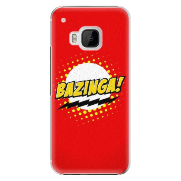Plastové pouzdro iSaprio - Bazinga 01 - HTC One M9