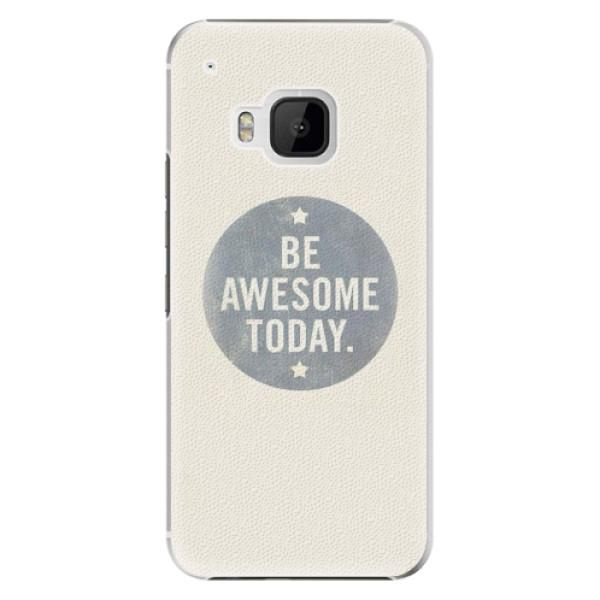 Plastové pouzdro iSaprio - Awesome 02 - HTC One M9