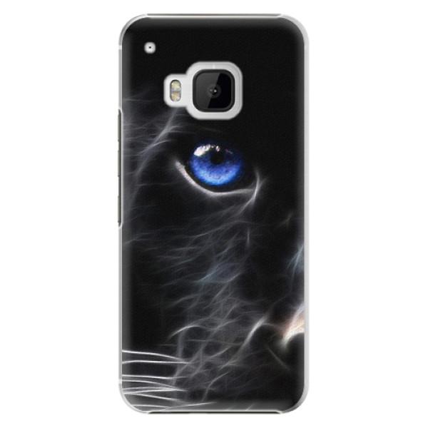 Plastové pouzdro iSaprio - Black Puma - HTC One M9