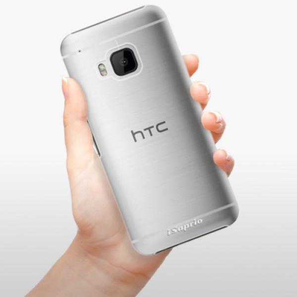 Plastové pouzdro iSaprio - 4Pure - mléčný bez potisku - HTC One M9