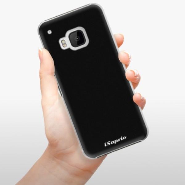 Plastové pouzdro iSaprio - 4Pure - černý - HTC One M9