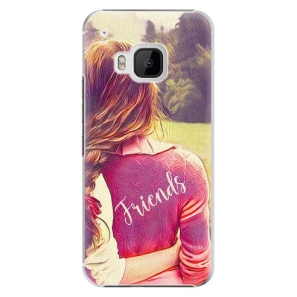 Plastové pouzdro iSaprio - BF Friends - HTC One M9