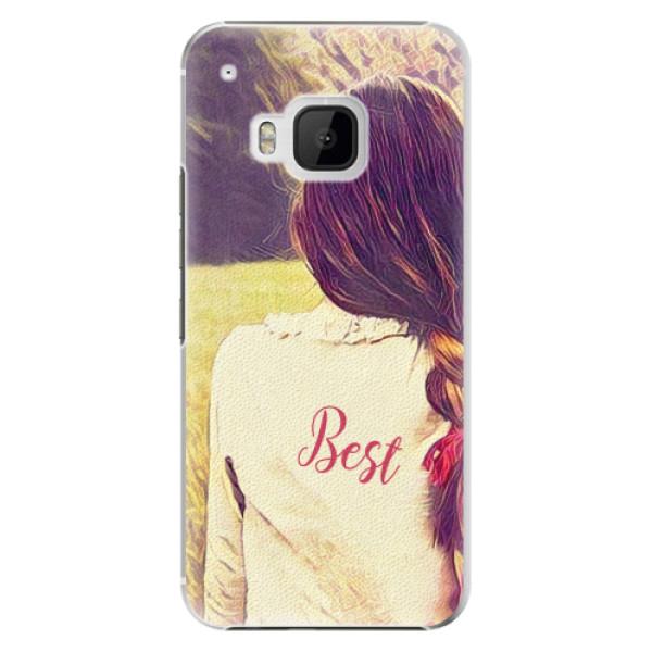 Plastové pouzdro iSaprio - BF Best - HTC One M9