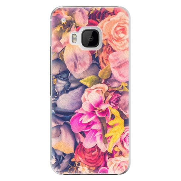 Plastové pouzdro iSaprio - Beauty Flowers - HTC One M9