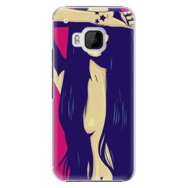 Plastové pouzdro iSaprio - Cartoon Girl - HTC One M9