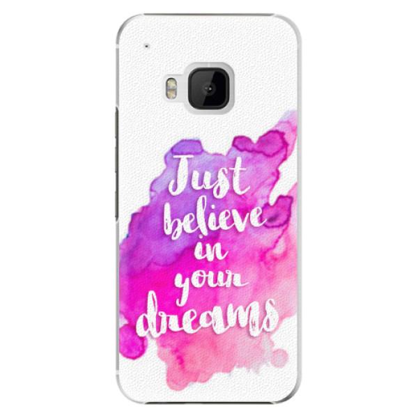 Plastové pouzdro iSaprio - Believe - HTC One M9