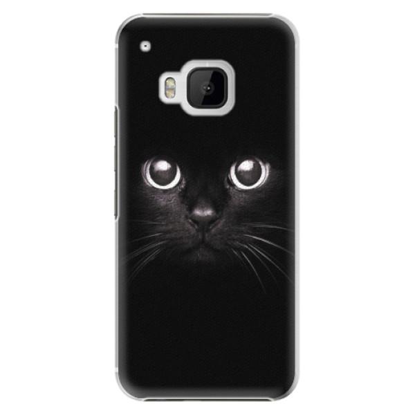 Plastové pouzdro iSaprio - Black Cat - HTC One M9
