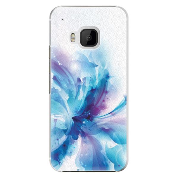 Plastové pouzdro iSaprio - Abstract Flower - HTC One M9