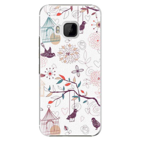 Plastové pouzdro iSaprio - Birds - HTC One M9