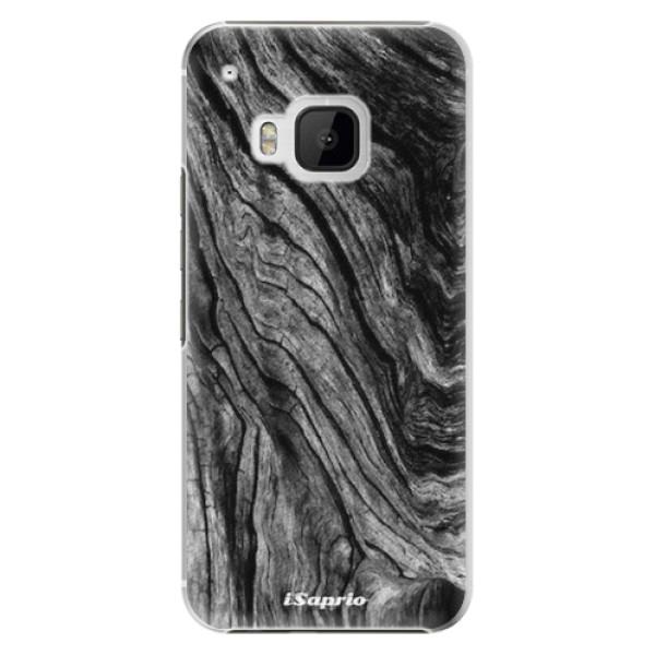 Plastové pouzdro iSaprio - Burned Wood - HTC One M9