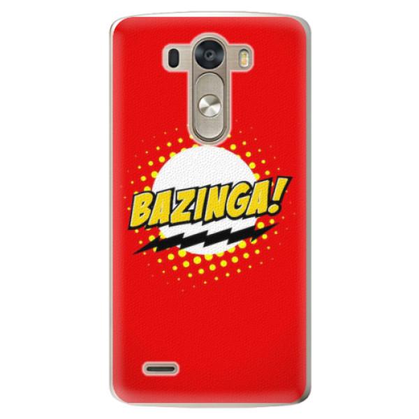 Plastové pouzdro iSaprio - Bazinga 01 - LG G3 (D855)