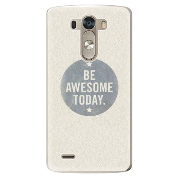 Plastové pouzdro iSaprio - Awesome 02 - LG G3 (D855)